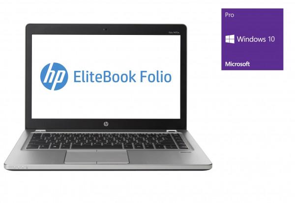 HP EliteBook Folio 9470m - 14,0 Zoll - Core i5-3437U @ 1,9 GHz - 8GB RAM - 128GB SSD - Webcam - Win10Pro
