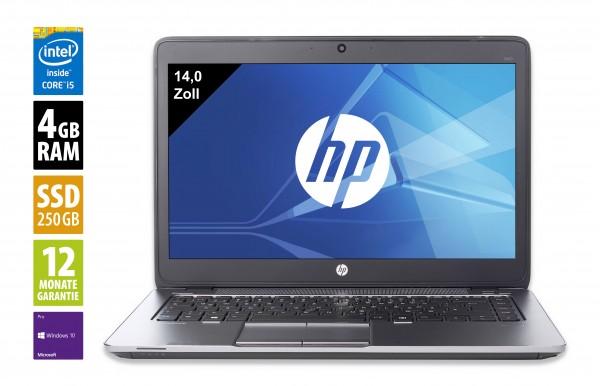 HP EliteBook 840 G1 - 14,1 Zoll - Core i5-4300U @ 1,9GHz - 4GB RAM - 256GB SSD - WSXGA (1600x900) - Webcam - Win10Pro