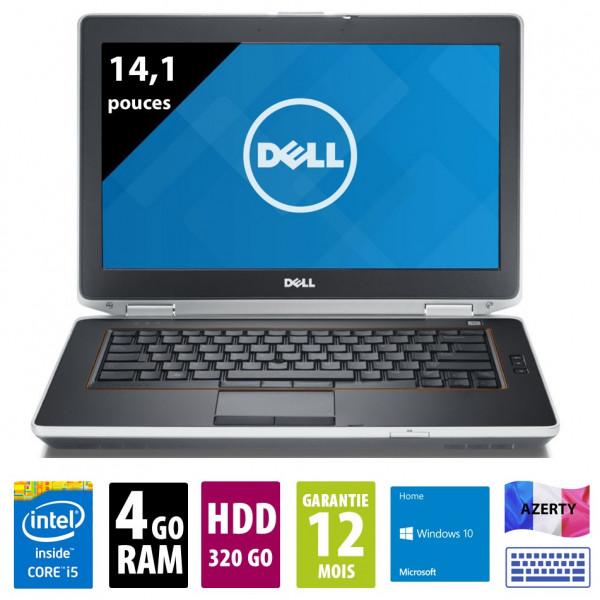 Dell Latitude E6420 - 14,0 Zoll - Core i5-2520M @ 2,5 GHz - 4GB RAM - 320GB HDD - DVD-RW - WXGA (1366x768) - Webcam -  Win10PRO