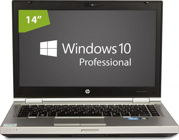 HP Elitebook 8460p - Intel Core i5 2540M @ 2.6 GHz - 4GB RAM - 250GB HDD - DVD/RW - Win10pro