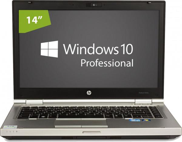 HP Elitebook 8460p - Intel Core i5 2540M @ 2.6 GHz - 4GB RAM - 128GB SSD - DVD/RW - Win10pro