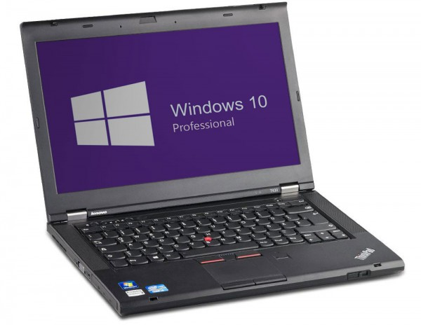 Lenovo ThinkPad T430 - 14,0 Zoll - Core i5-3320M @ 2,6 GHz - 4GB RAM - 500HDD - DVD-RW - WSXGA (1600x900) - Webcam - Win10Pro