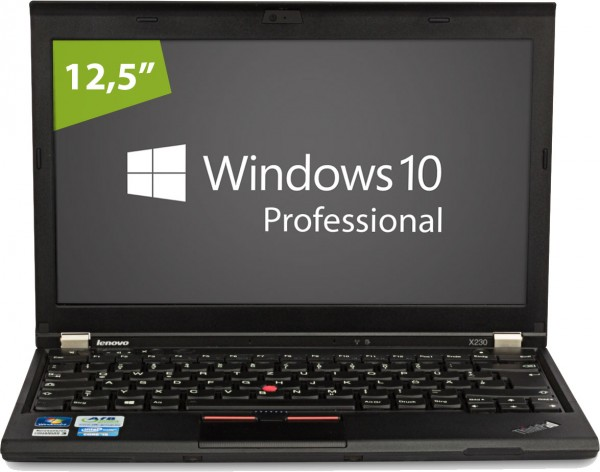 Lenovo ThinkPad X230 2325-YBN - Intel Core i5 3320 @ 2.6GHz - 8GB RAM - 256GB SSD - Win10pro